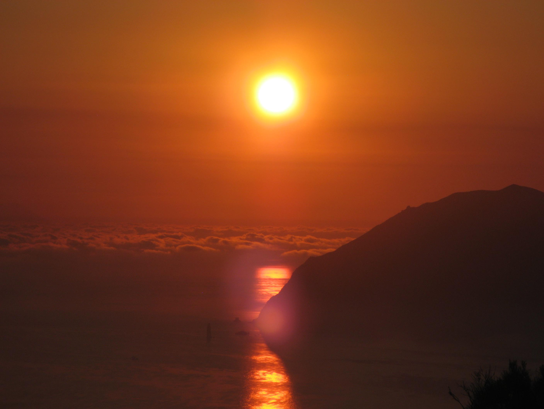 Alicudi-Insel- Sonnenaufgang 3