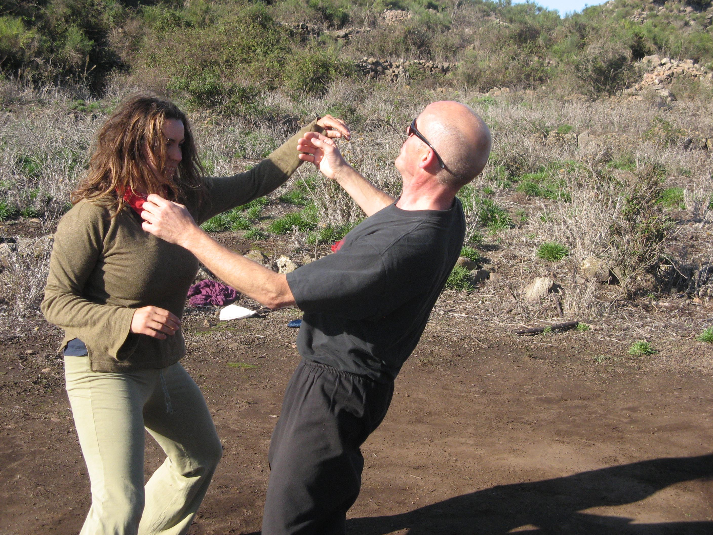 Alicudi-Insel-Tai chi push hands 10