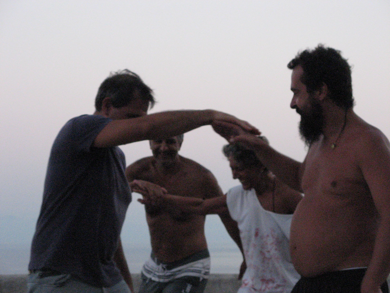 Alicudi-Insel-Tai chi push hands 2