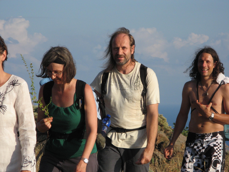 Alicudi-Insel- Wanderung