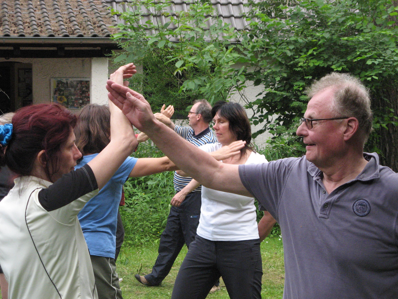 Berlin-Ba Gua-Partnerübungen 14