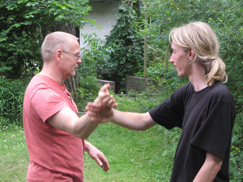 Berlin-Ba Gua-Partnerübungen 15