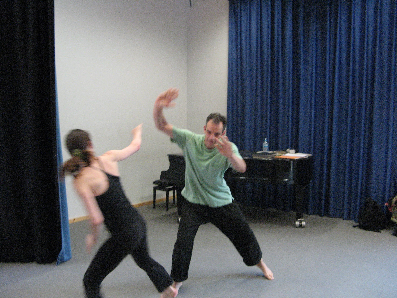 Berlin-Kung Fu-Partnerübung 5