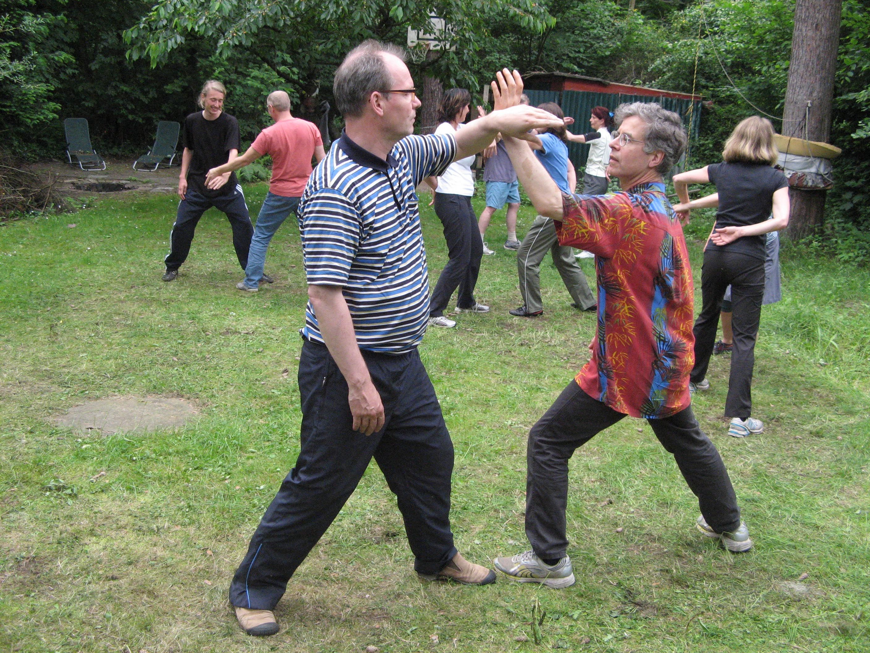 Berlin-Tai Chi push hands 16