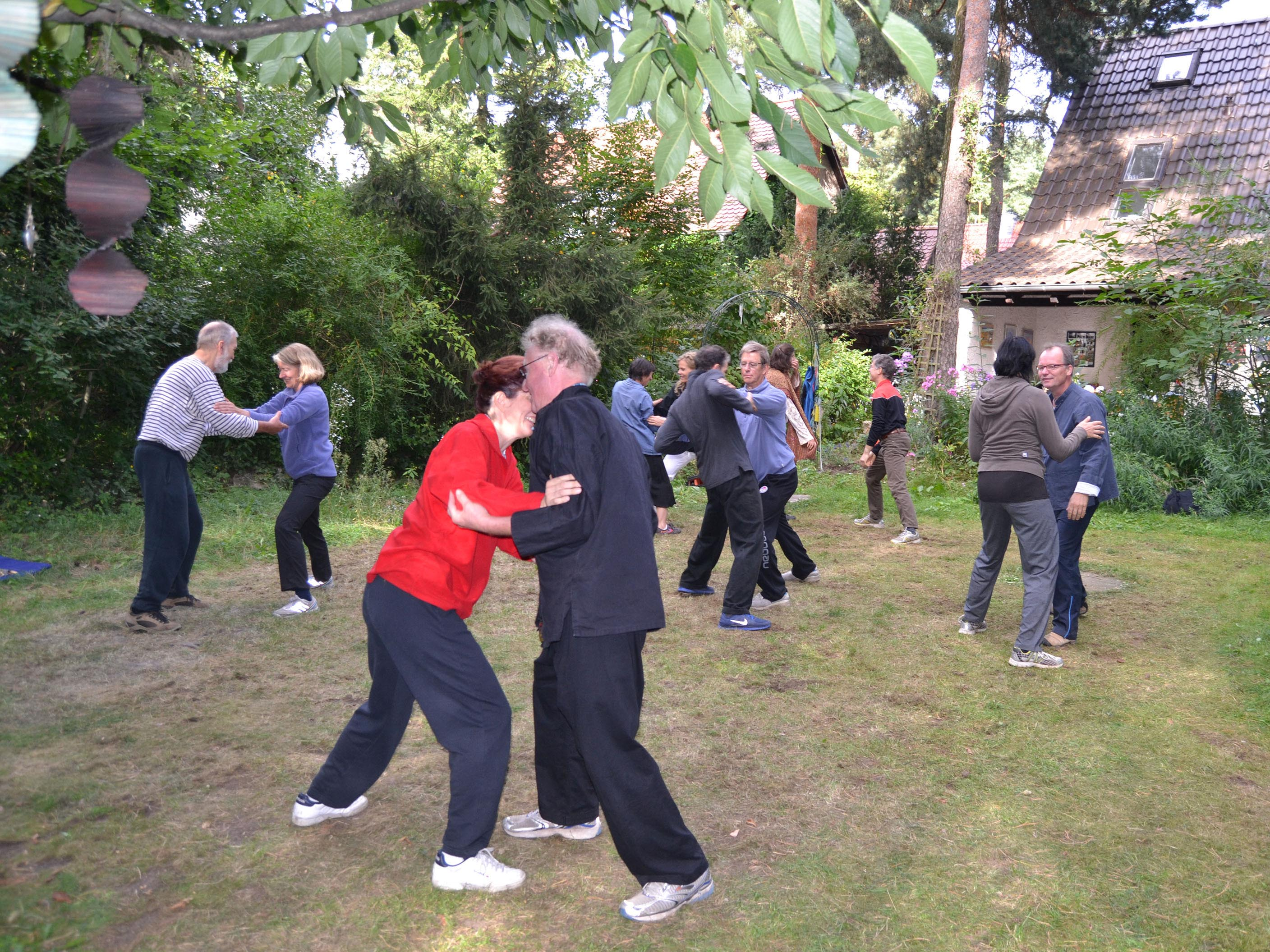 Berlin-Tai Chi push hands 7