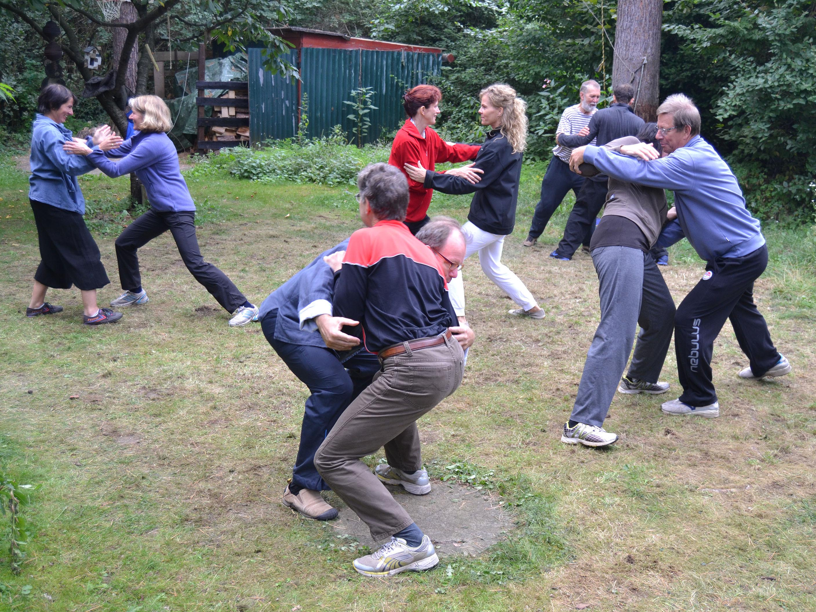 Berlin-Tai Chi push hands 8